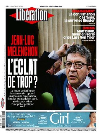 Liberation Du Mercredi 17 Octobre 2018